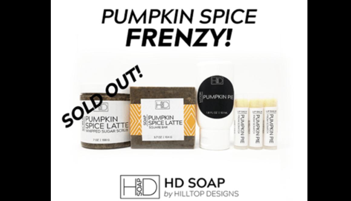 HD Soap | PSL Scrub Sold Out