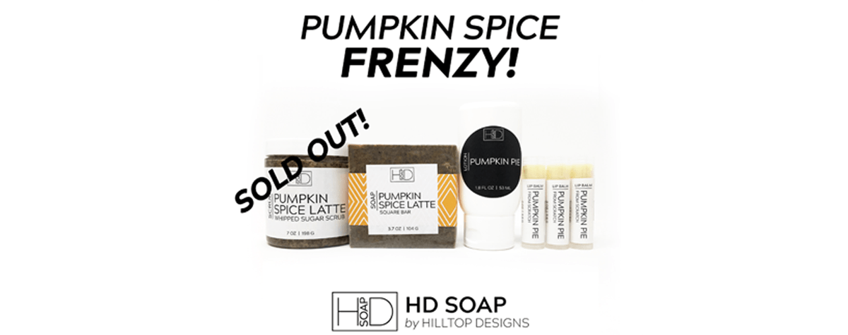 HD Soap | PSL Scrub Sold Out