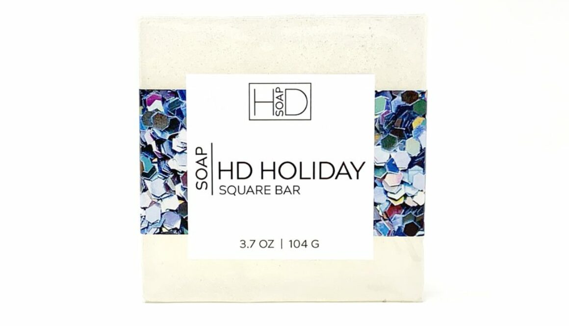 HD Soap | HD Holiday Square Bar