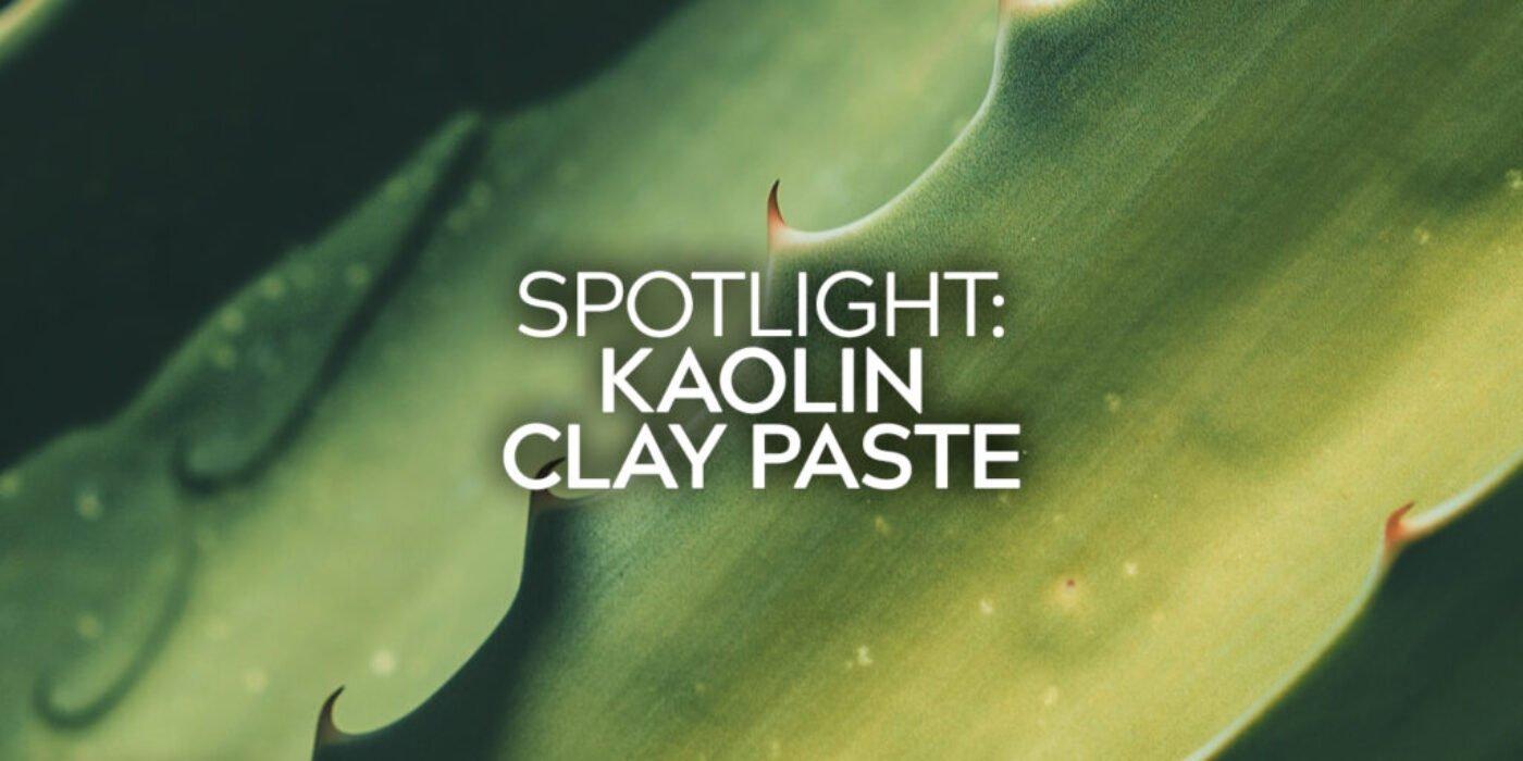 Kaolin Clay Paste