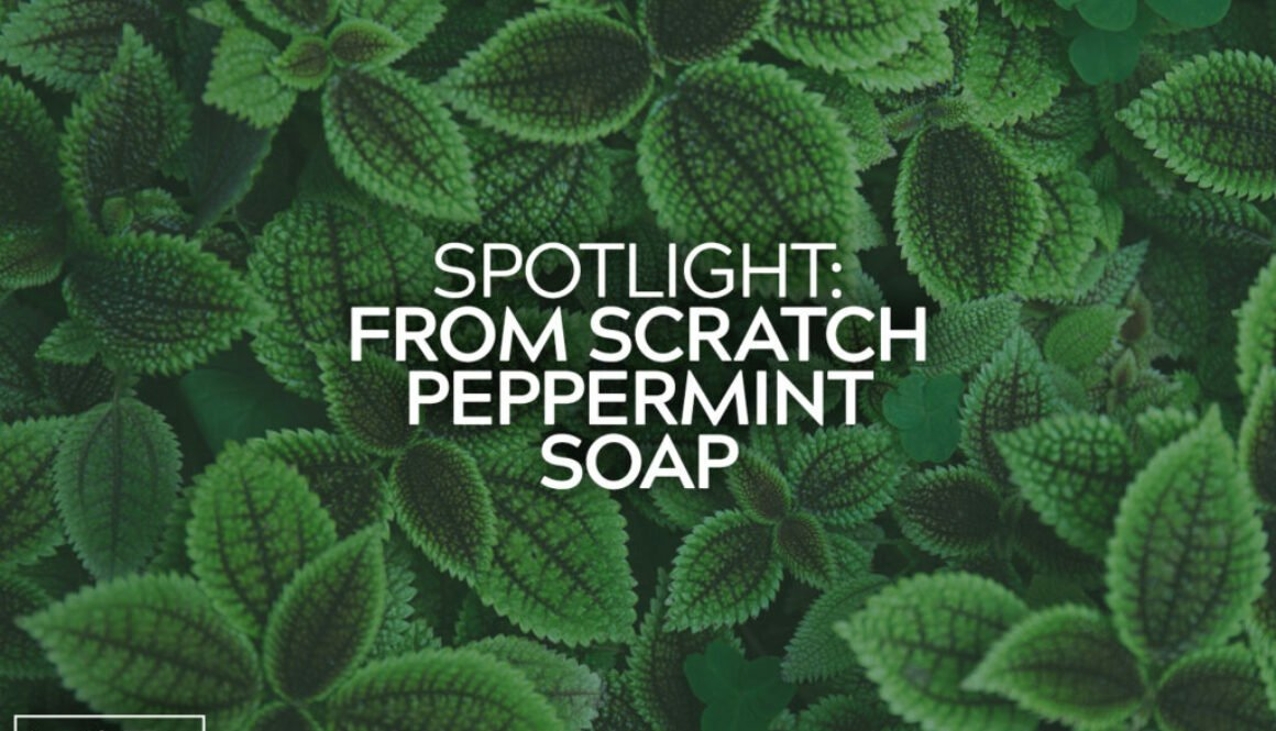 From Scratch Peppermint Soap