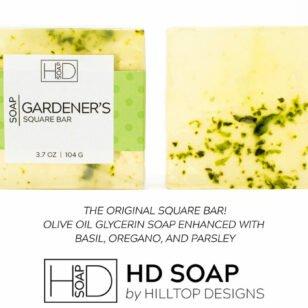 HD Soap | Gardener's Square Bar