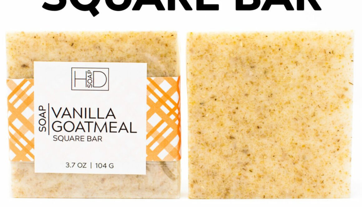 HD Soap | Vanilla Goatmeal Square Bar