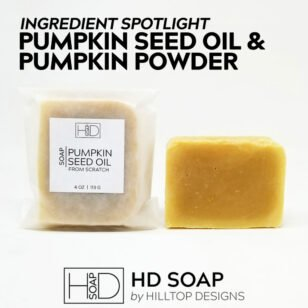HD Soap | Pumpkin Seed Oil and Pumpkin Powder