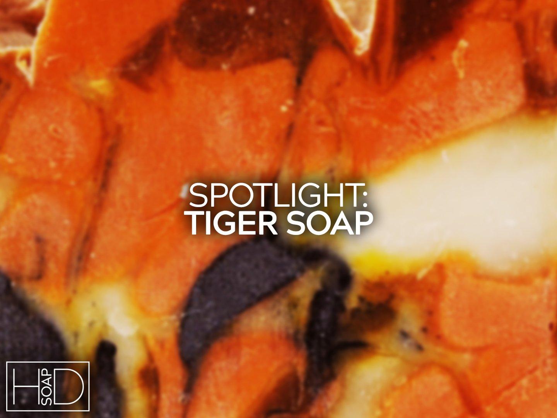 Spotlight Tiger Soap