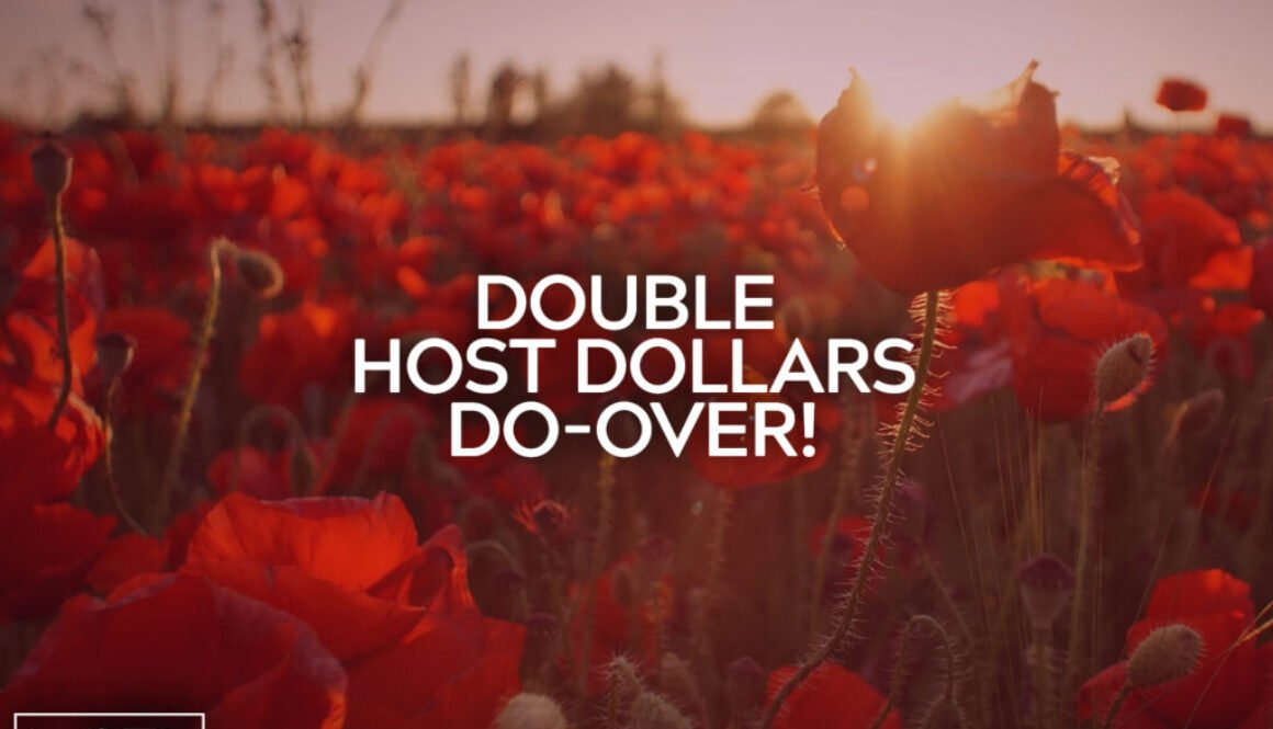 Double Host Dollars Do Over