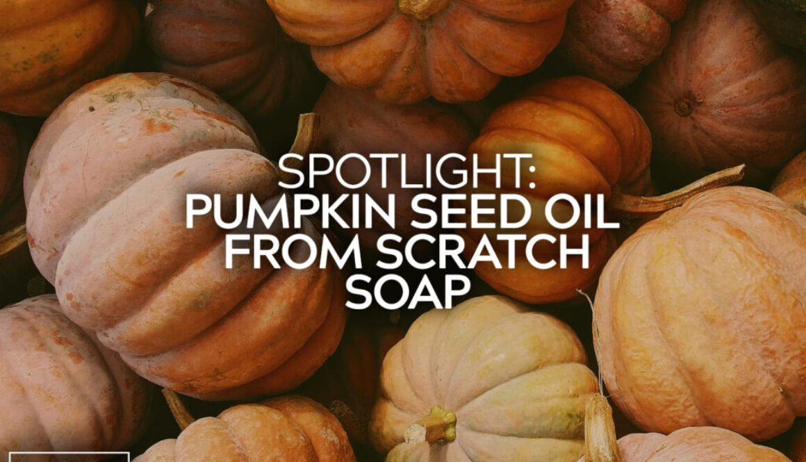 Pumpkin Seed Oil From Scratch Soap
