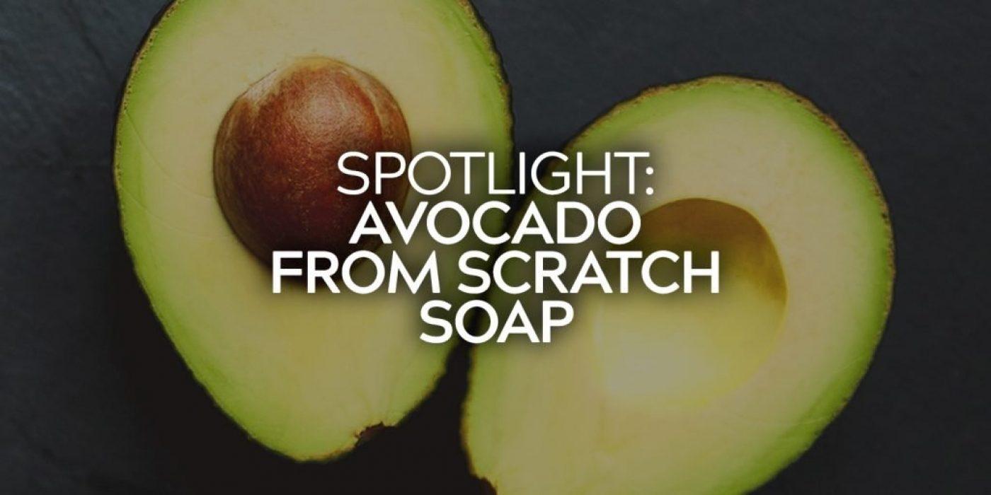 Avocado From Scratch Soap