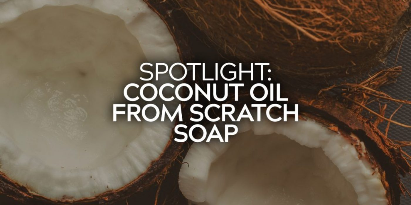 Coconut Oil FS Soap