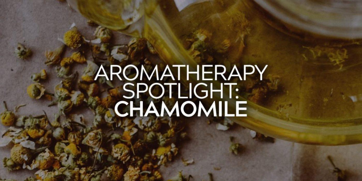 Aromatherapy Spotlight: Chamomile