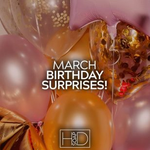 March Birthday Surprises
