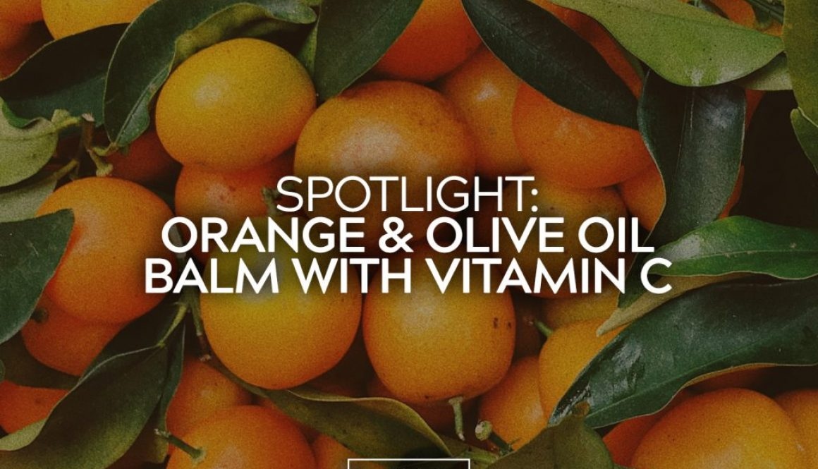 Orange and Olive Oil Balm with Vitamin C