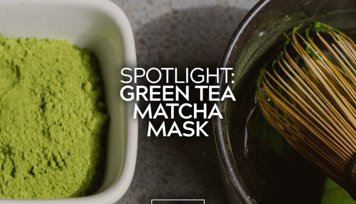 Green Tea and Matcha Mask 2