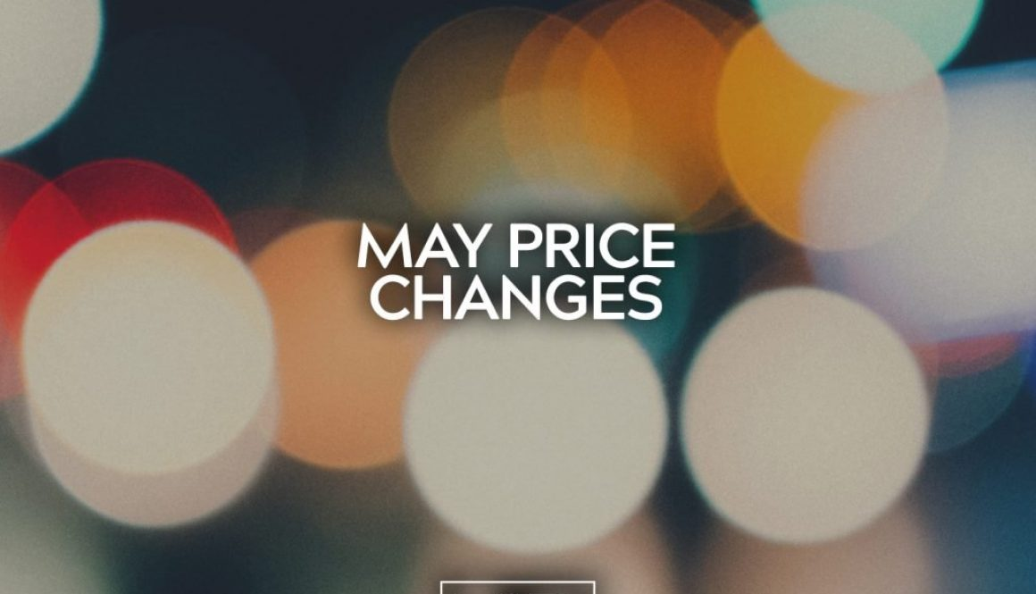 May Price Changes