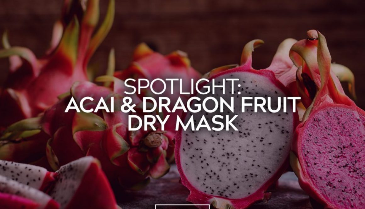 Acai and Dragon Fruit Dry Mask